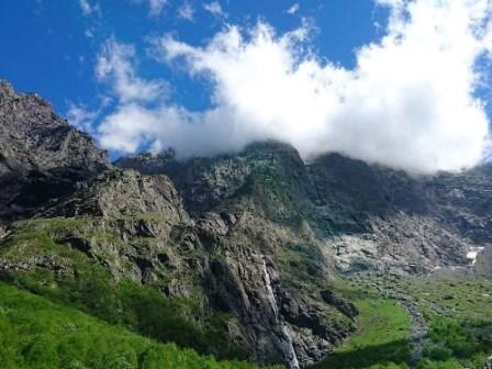 экскурсия - Мидаграбинские водопады Осетия